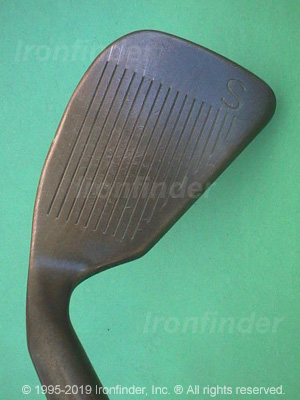 Face side of Ping Zing 2 BeCu Irons head