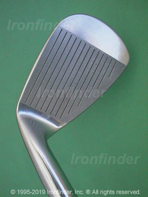 Face side of Mizuno T Zoid Pro-II Irons head