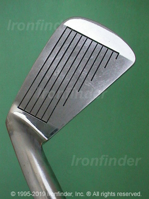 Face side of MacGregor the 985 Custom Limited Irons head