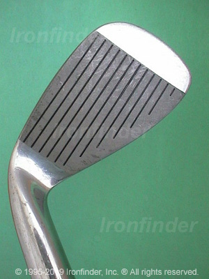 Face side of Mizuno Silver Cup (cavity) Irons head