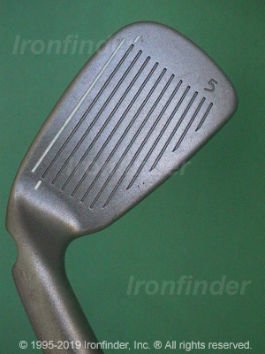 Face side of Ping i3 O-Size Irons head