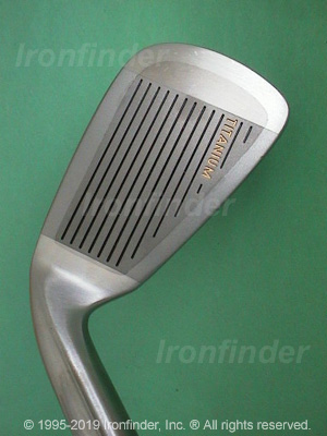 Face side of RAM FX Ti-SERT Oversize Irons head