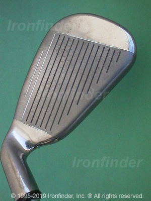 Face side of Callaway Hawk Eye (titanium) Irons head