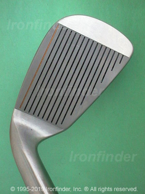 Face side of RAM FX Oversize NICKEL Irons head