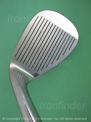 Face side of RAM Tom Watson Wedges Irons head