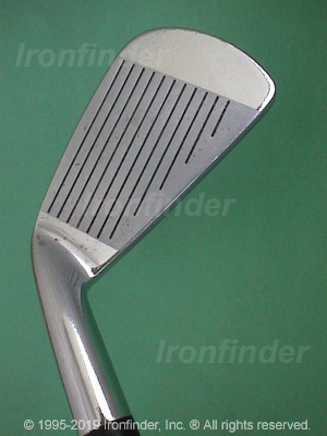Face side of Mizuno Grad MP Irons head