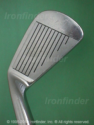 Face side of Mizuno MP-9 Irons head