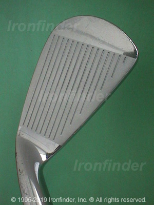 Face side of MacGregor Tourney MT (cavity back) Irons head