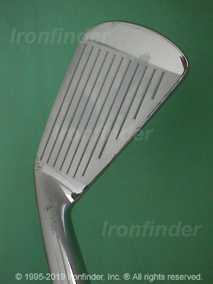 Face side of MacGregor Tourney Forged PMB Irons head