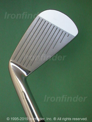 Face side of Mizuno MP-33 Irons head