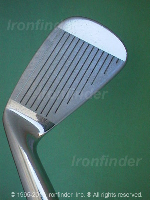 Face side of Cleveland Tour Action TA3 Form Forged Irons head
