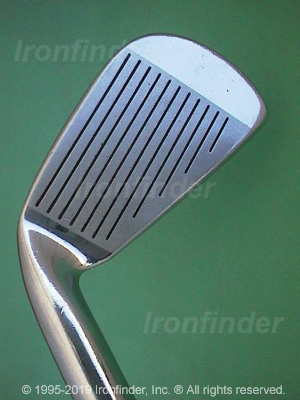 Face side of Mizuno Grad P-Forged Irons head