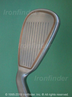 Face side of Cleveland Quad Pro Irons head