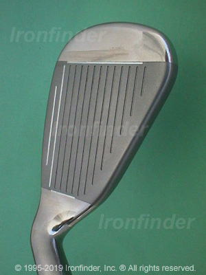 Face side of Callaway Hawk Eye VFT Irons head