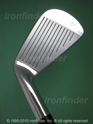 Face side of Mizuno MP-30 Irons head