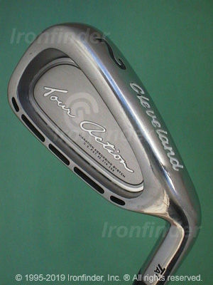 Back side of Cleveland Tour Action TA7 Irons head - the 