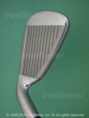 Face side of Cleveland Tour Action TA7 Irons head